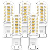 G9 LED Lampen Warmweiß 3000K, LED G9 Leuchtmittel 3W Ersatz Für G9 Halogenlampe 40W 33W 28W, CRI...