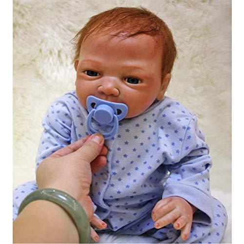 HRYEOY Muñecos Bebé Reborn Niño Realista Silico