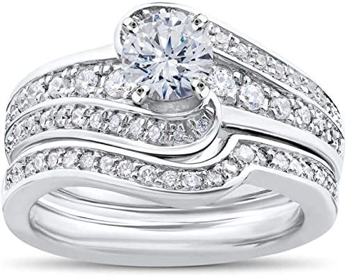 0.80 Award-winning store Ct Round Diamond Antique Wedding Ring Regular discount Solitaire Anniversary