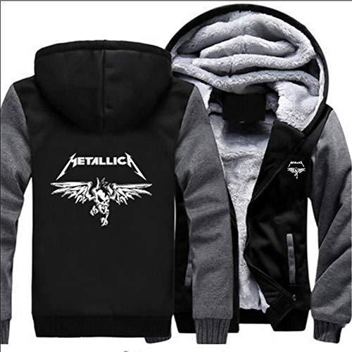 Jerseys Metallica Impresos en 3D, Camisas Deportivas Casuales para Adolescentes, Chaquetas Tipo suéter, Mangas largas para Hombres y Mujeres para Mantenerse Calientes en Invierno