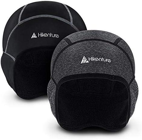 Hikenture Skull Caps for Men 2 Pack Winter Cycling Helmet Liner Women Thermal Fleece Windproof product image