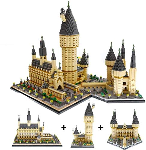 TXXM Modelo Kits, creativos Arquitectura Building Blocks Juguetes, niños DIY ensamblado de Bloques de creación de Modelos, los niños de Navidad