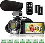 Digital Camera YouTube Vlogging Camera HD 1080P 24MP Video Camcorder 16X Digital Zoom