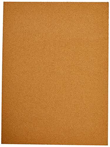 Cortica Em Folhas Aberta Med.60x45cm. 1mm - Pacote com 5 Folhas, Cortiarte, 606, Natural