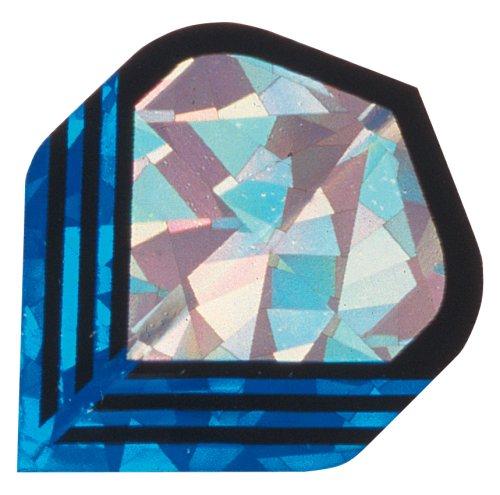 30 Stück Silber-blau in 2-D Hologramm Flight 802903