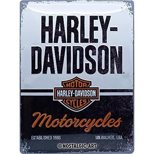 Nostalgic-Art Harley-Davidson – Motorcycles – Geschenk-Idee für Motorrad-Fans