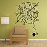 stickers muraux Toile d'araignée aranide drôle pour la décoration à la maison de pièce d'enfants