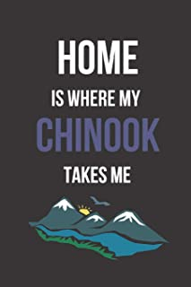 Home is Where My Chinook Takes Me: Blank Line Journal