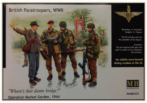 Masterbox 3533 British Paratroops 1 1:35 Plastic Kit
