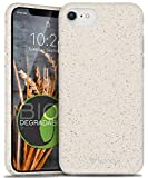 Vena ECO Biodegradable Case Designed for iPhone SE 2020/8 / 7, (Biodegradable TPU, Drop Proof) Eco-Friendly Slim Protective Case Cover Compatible with Apple iPhone SE 2020 / iPhone 7 8 - White