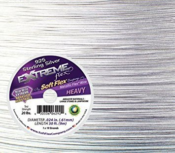 """Soft Flex Extreme - Sterling Silver .024"""" 30 ft."""