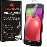 TECHGEAR Moto E4 Verre, Protecteur d'Écran Original en Verre Trempé Compatible pour Motorola Moto...