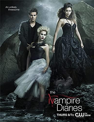 Cuadro de Lienzo The Vampire Diaries Classic Movie Art Decoración para el hogar Imagen Póster Dormitorio Bar Sofá Decoración de la Pared 60x90cm