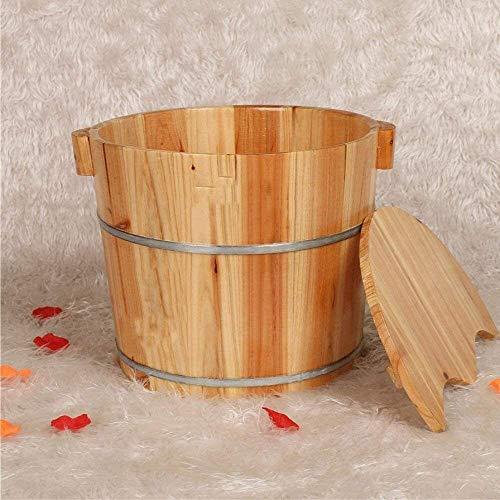 QIANSHI Détails décident la qualité Ménage Bain de Pieds Pédicure Bowl Pieds en Bois Baignoire Bain de Pieds Bain de Pieds Barrel Barrel Massage des Pieds Bassin Pieds Bain des Pieds, Chaud Partout