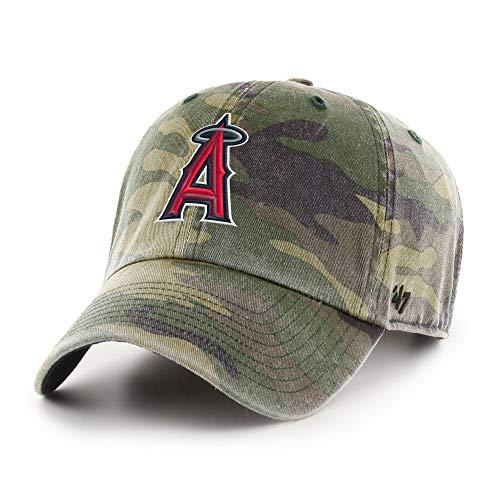 47 L.A. Angels Clean Up Adjustable Cap (for Adults) (Camo)