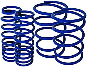 Fit 2006-2012 Mitsubishi Eclipse Suspension Lowering Spring Blue (Front - 2.5