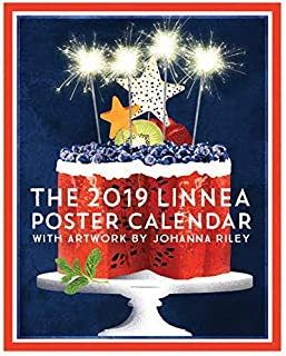 Linnea Design 2019 Poster Wall Calendar 14 X 11 Inches Art by Johanna Riley