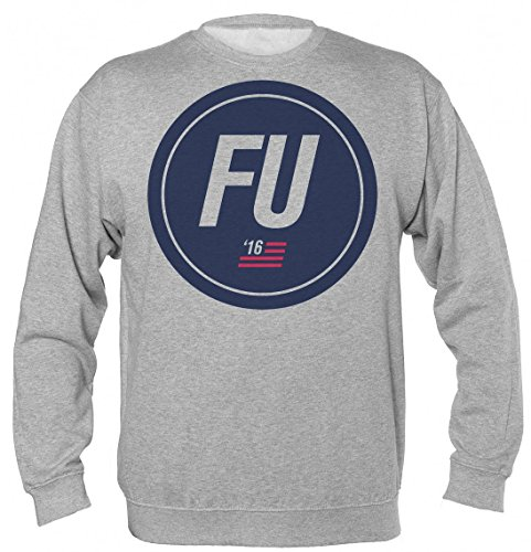 Finest Prints FU 2016 Frank Underwood HoC Unisex Sweatshirt Extra Large