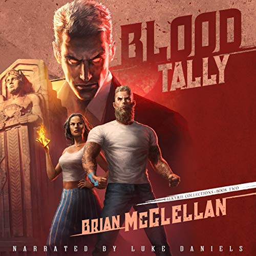 Blood Tally audiobook cover art