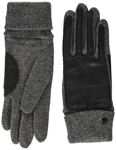 ESPRIT Accessoires Damen 100EA1R324 Winter-Handschuhe, 010/ANTHRACITE, M