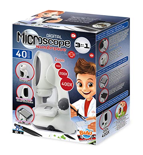 BUKI MR700 - Video-Mikroskop, mit 3 Funktionen