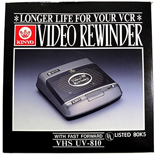 Kinyo Video Rewinder with Fast Forward - VHS UV-810