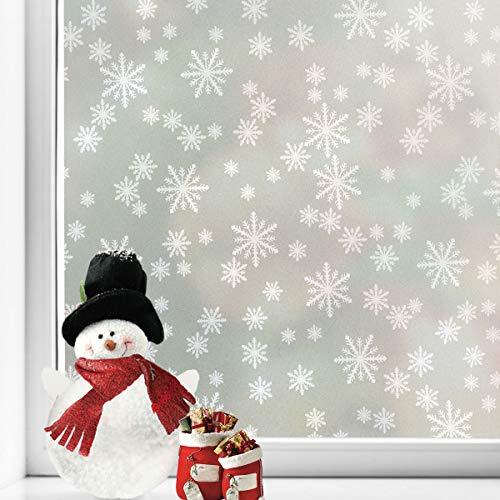 Snowflakes Privacy Window Film Chri…