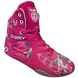 Otomix Stingray Escape, scarpe da donna per bodybuilding, sollevamento pesi, MMA & Wrestling., Rosa (Rosa/mimetico.), 40.5 EU