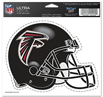 WinCraft Atlanta Falcons Team Logo 5 x6  NFL Helmet Decal
