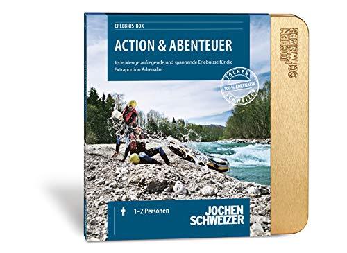 Jochen Schweizer Erlebnis-Box Action & Abenteuer, über 690 Erlebnisse für 1-6 Personen, Gutschein, Geburtstags-Geschenk, Geschenk Mann, Geschenk Freund, Geschenk-Bruder, Geschenkideen für Männer