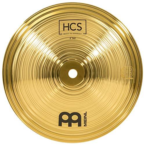 Meinl Cymbals HCS 8 Zoll Bell Becken für Schlagzeug – Messing, traditionelles Finish (HCS8B)