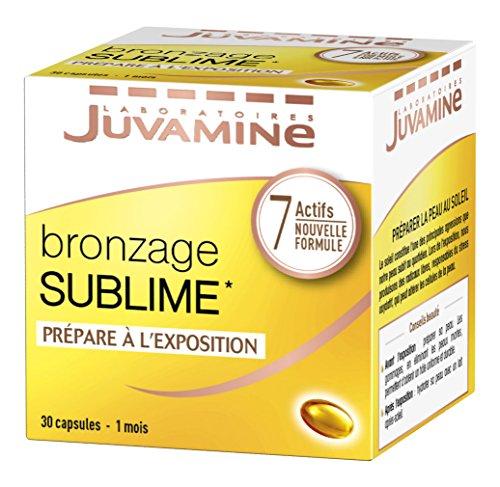 JUVAMINE – Bronzage Sublime – Prépare à l'exposition au soleil – 7 Actifs Beauté – 30 capsules