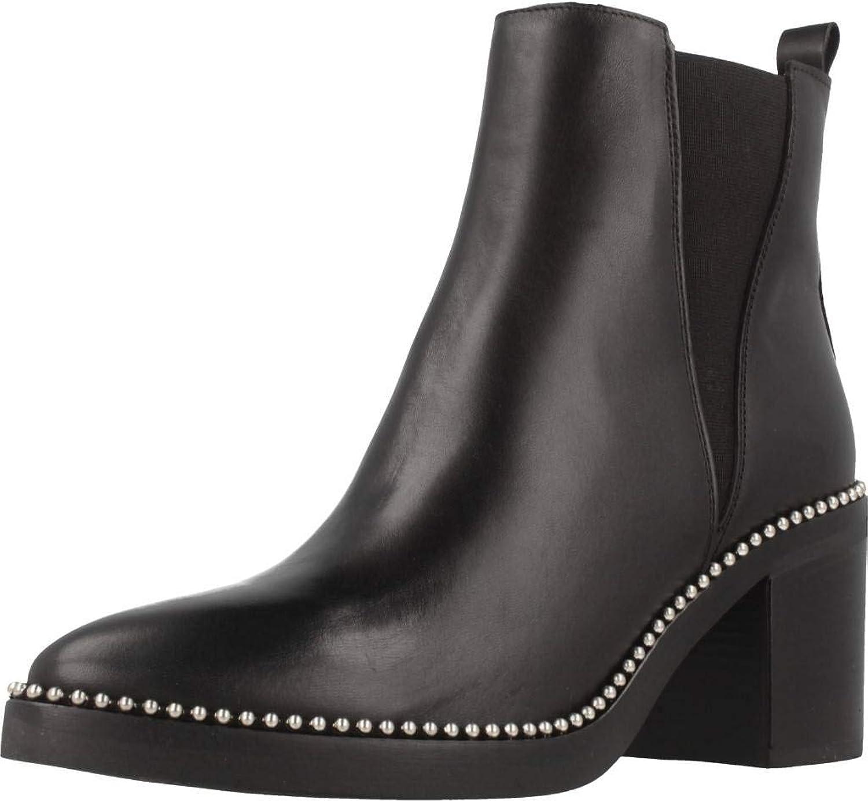 ALPE Stiefelleten Stiefel Damen, Farbe Schwarz, Marke, Modell Stiefelleten Stiefel Damen 3529 20 Schwarz