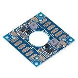 Omabeta Dual BEC PDB, 2,01 X2,01 X 0,079 Pulgadas Tablero De Distribución ESC Tablero De Distribución De Energía PCB Ligero PDB para FPV Drone