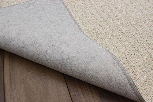日本製天然素材コットン100%カーペット4.5畳折りたたみじゅうたん4.5帖サイズ(261×261cm)モーメン/アイボリー色肌の弱い方にもおすすめです