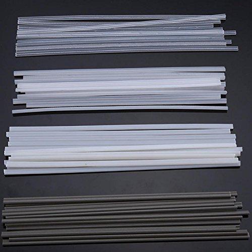 OKIl 50 stuks lasstaven van kunststof ABS/PP/PVC/PE 200 mm voor kunststof lassen