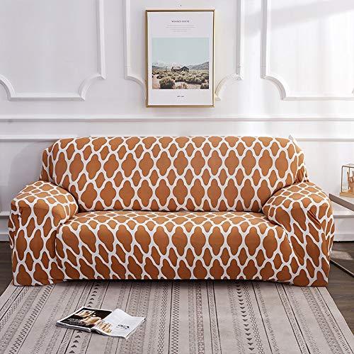 WXQY Funda de sofá elástica de Malla elástica Funda de sofá de Sala de Estar sillón Chaise Longue Funda de sofá Todo Incluido A8 2 plazas