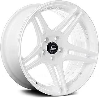Cosmis Racing S5R 17x9 +22mm 5x114.3 White Rim Wheel
