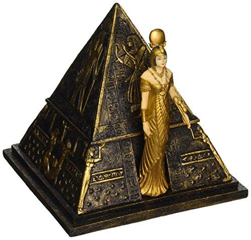 Ägyptische Dekor Schmuckschachtel - Ägyptische Göttin Isis Pyramide Schmuck-Box - Ägyptische Statuen