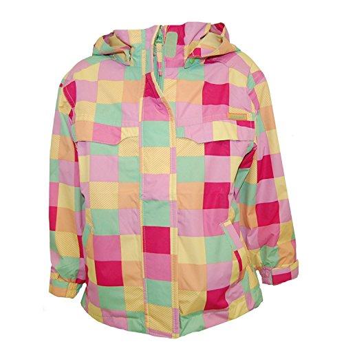 Outburst - Mädchen Regenjacke Funktionsjacke, gelb, Größe 98