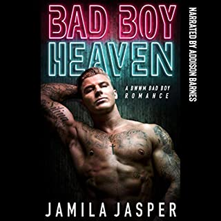 Bad Boy Heaven: A BWWM Bad Boy Romance Novel audiobook cover art