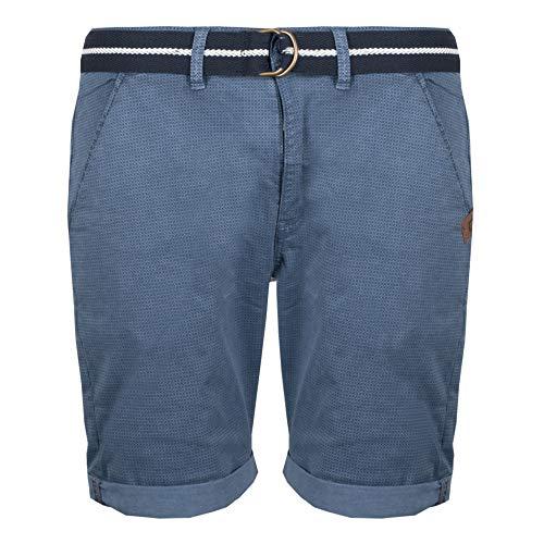 Indicode Herren Chino Shorts Goddard Kurze Hose China Blue (blau), Größe:M