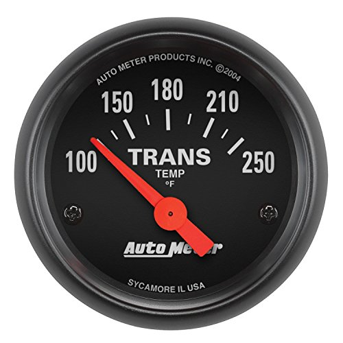 AUTO METER 2640 Z-Series Electric Transmission Temperature Gauge , 2 1/16