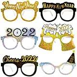 🎉 Package Includes : You will get 12 pack of happy new year party glasses.6 designs in total, 2pcs for each. 🎉 Suitable Size and High Quality Material: About 15 x 13.5 x 0.1 cm. One size fits most adults and teens. The new year party glasses are made...