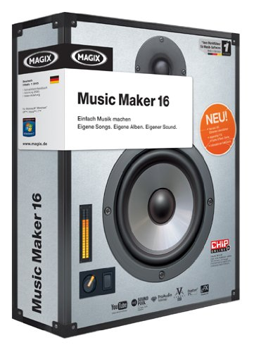 MAGIX Music Maker 16 (Minibox)