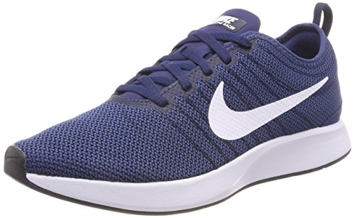 Nike Dualtone Racer, Men's Gymnastics Gymnastics Shoes, Blue (Midnight Navy/White/Coastal Bl 400), 4 UK (36.5 EU)