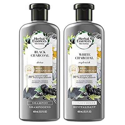 Herbal Essences, Shampoo and Conditioner Kit With Natural Source Ingredients, Color Safe, BioRenew Detox Charcoal, 13.5 fl oz, Kit by Procter & Gamble, Haba Hub