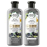 Herbal Essences, Shampoo and Conditioner Kit With Natural Source Ingredients, Color Safe, BioRenew Detox Charcoal, 13.5...
