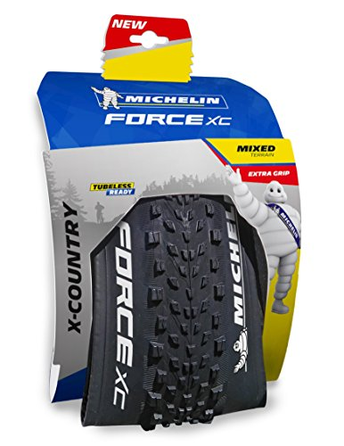Michelin Force XC Competition Line Pneu VTT Mixte Adulte, Noir, 26 x 2,10'