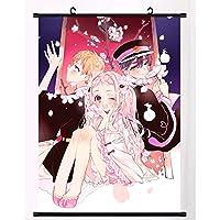 地縛少年花子くんスクロール壁画ポスターオタクハンギングアートクロスアニメーション周辺ファンギフト 50x75cm/19.7x29.5Inch